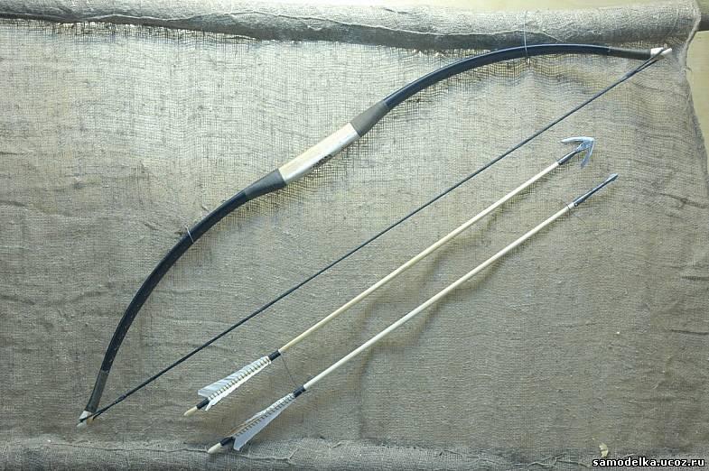 Как сделать лук из досок