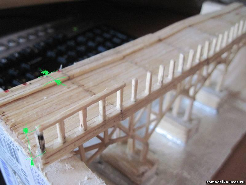 Мосты из спичек схемы