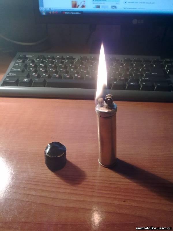 Самодельная зажигалка сделай сам 182