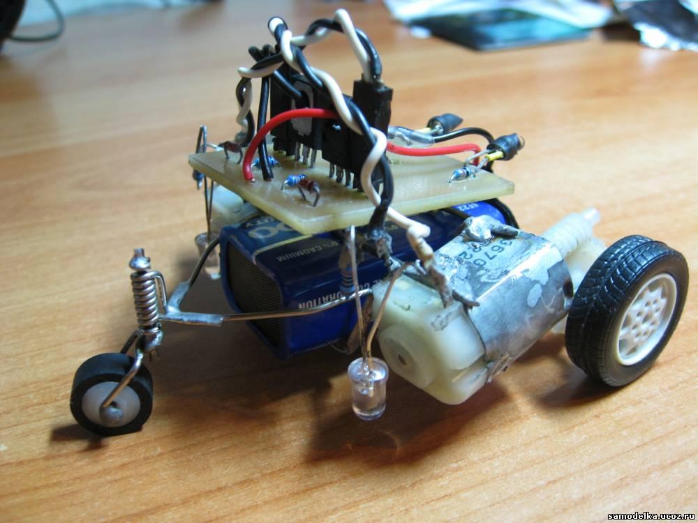 Мини-роботы из электронных деталей своими руками 9