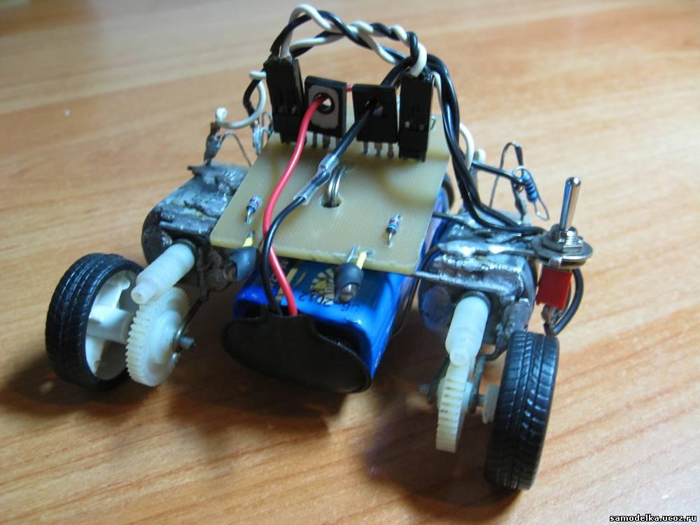 Вот мой робот: